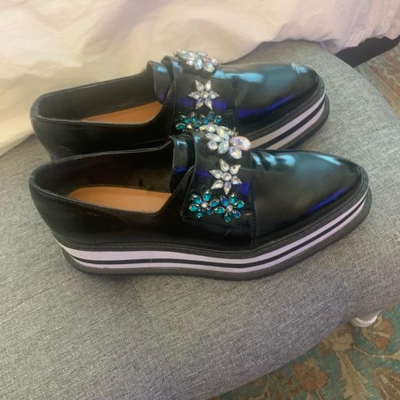 Zara black shoe